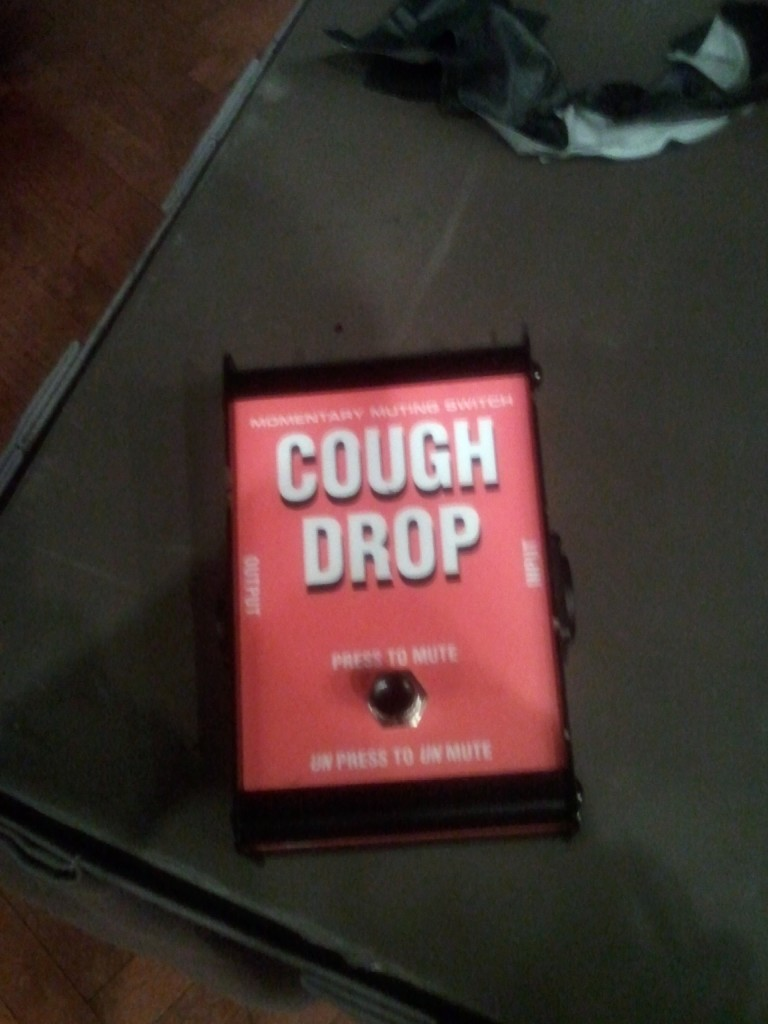 A different kind of cough drop.