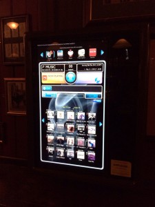 "The high-tech ""juke box."""