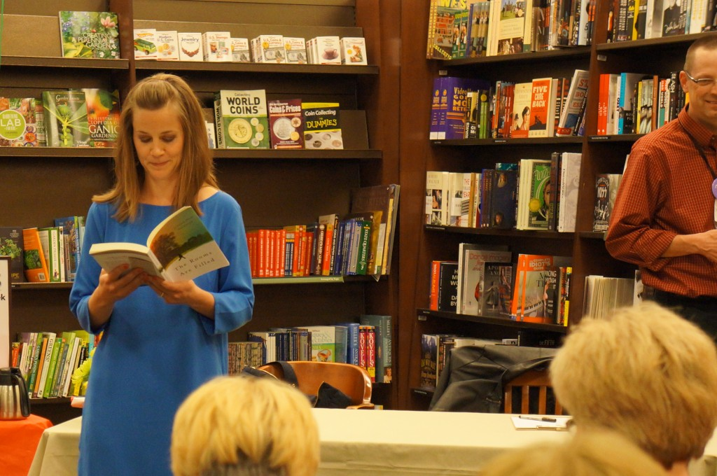 Jessica Null Vealitzek reads her debut novel, The Rooms Are Filled.