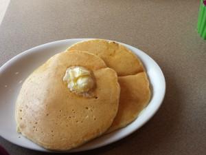 Mmmmm, pancakes....