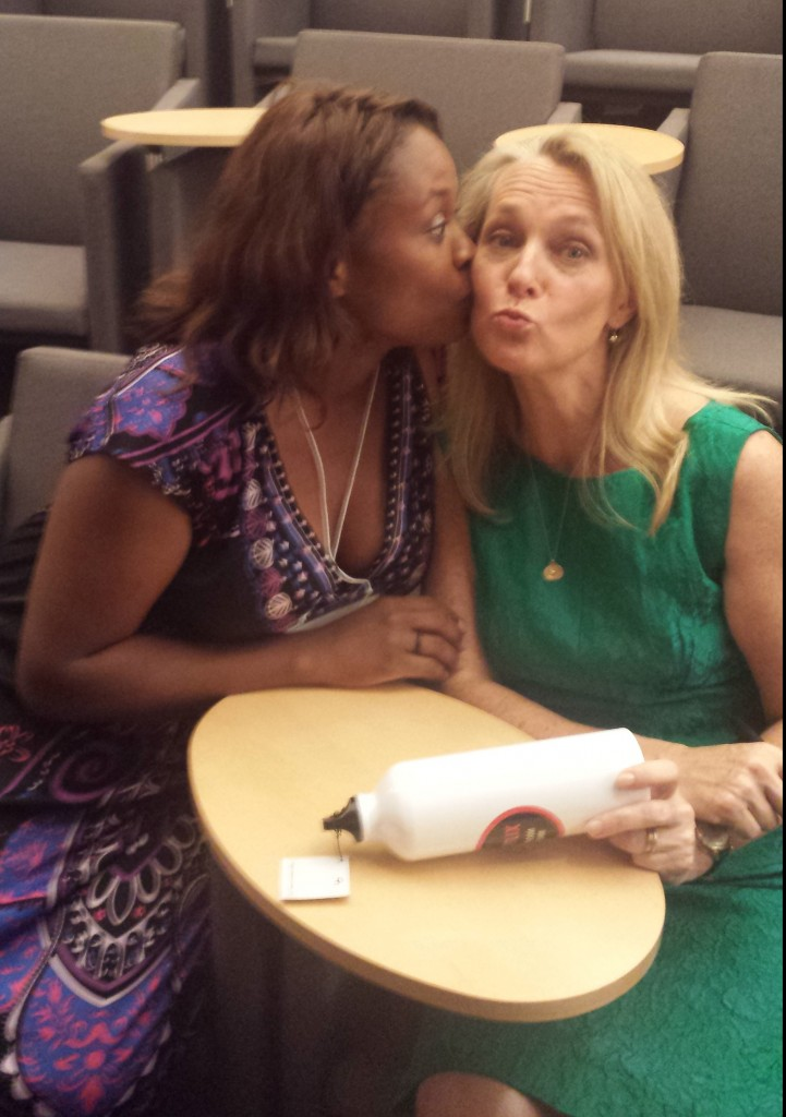 Smooches! This is Piper Kerman, author of Orange Is The New Black.