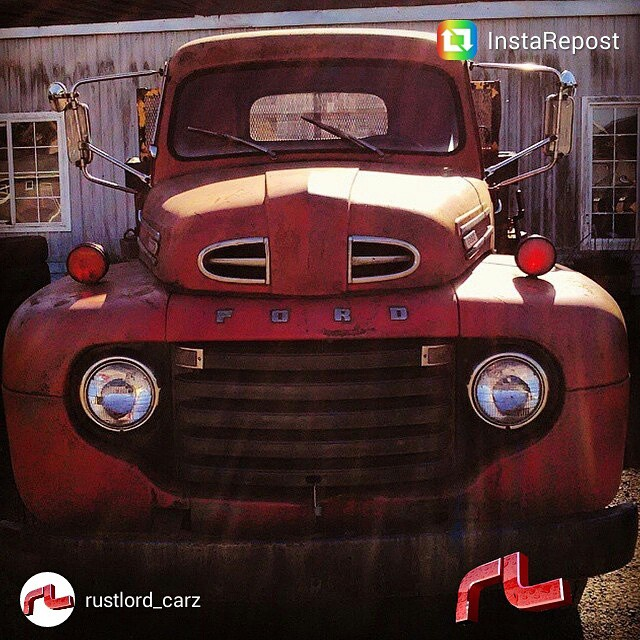 This picture of an old Ford truck in Pacific City, Oregon was picked as a featured photo .