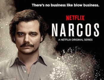 Narcos is a new original series on the Columbian drug war.