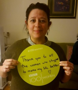 """""""Thank you to all the women who struggled to make my life better."""""""